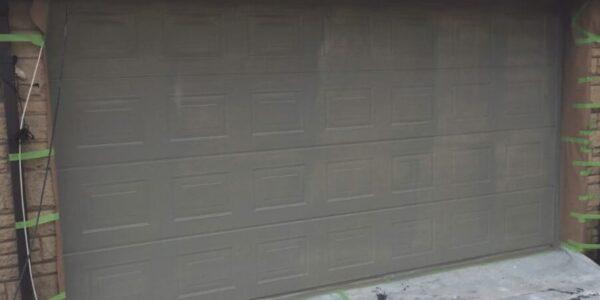 professional garage door spraying near me