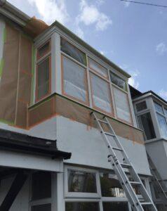 upvc window spraying bury lancashire