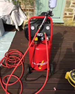 upvc windows spraying equipment