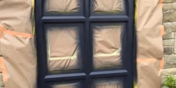 can you paint UPVC windows