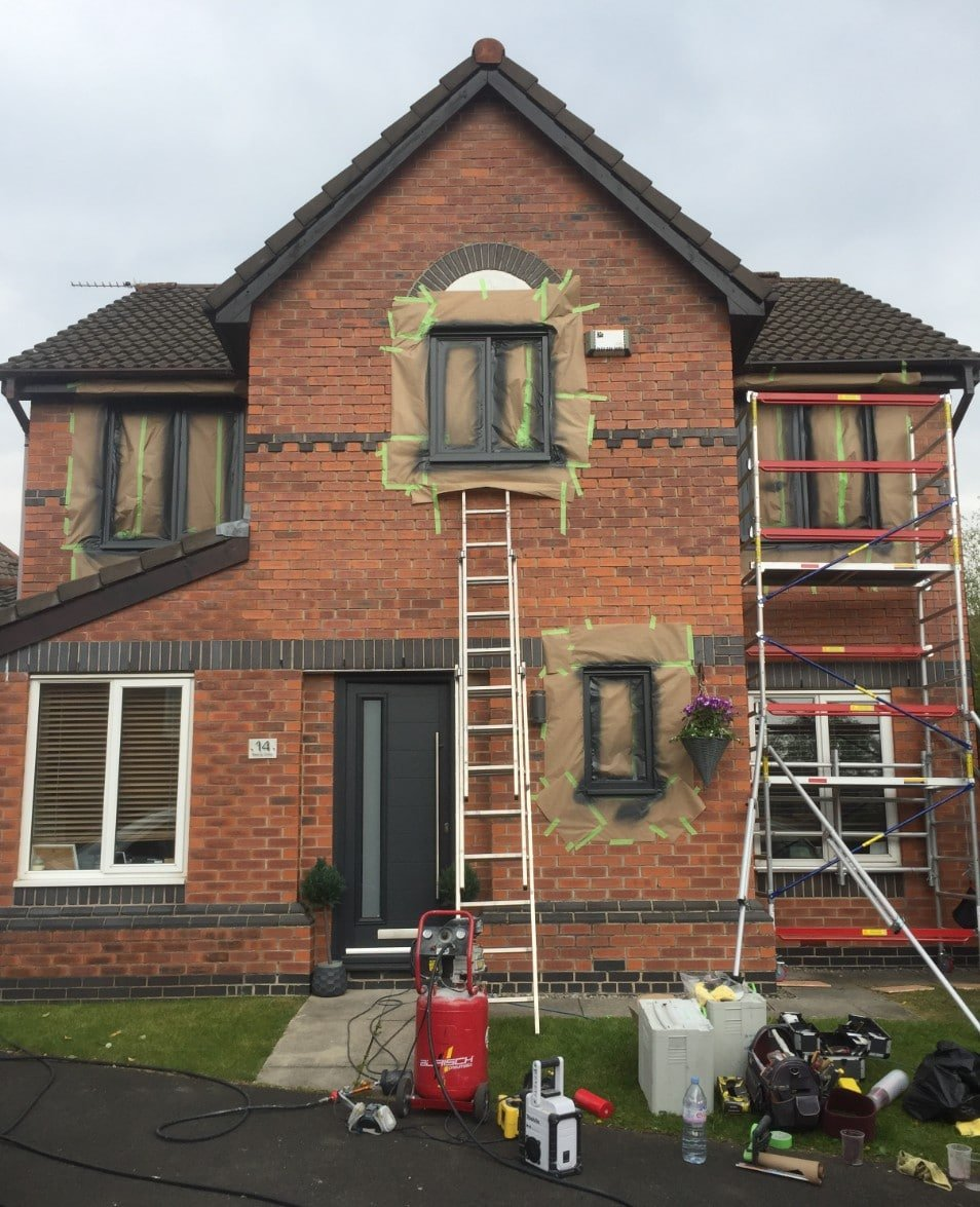 best onsite upvc spray painting specialists