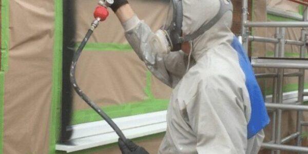 upvc spraying painting