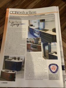 our trade magazine feature article