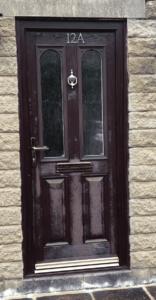 spraying faded composite doors