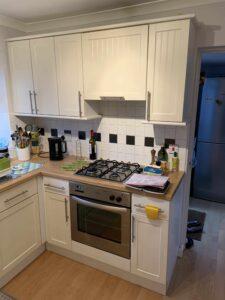 kitchen cupboard spray painters lytham st annes lancashire