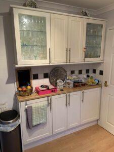 spraying kitchen cupboards lytham st annes lancashire