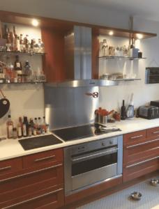spraying kitchen cupboards hague blue in rossendale lancashire