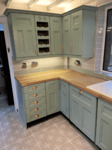 kitchen cabinet sprayers in lancashire