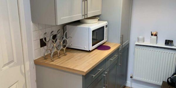 spraying kitchen cupboards lytham lancashire