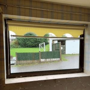 can you spray inside upvc windows