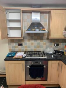 kitchen cabinets spraying in bolton
