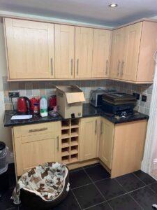 kitchen cupboard spraying in bolton