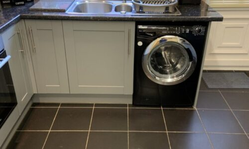 Spraying Kitchen Cupboards In Bolton