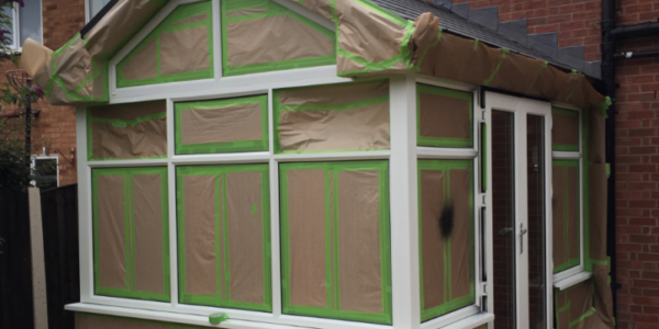 can you spray paint a upvc conservatory