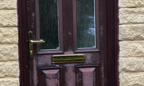 Restoring A Faded Composite Door