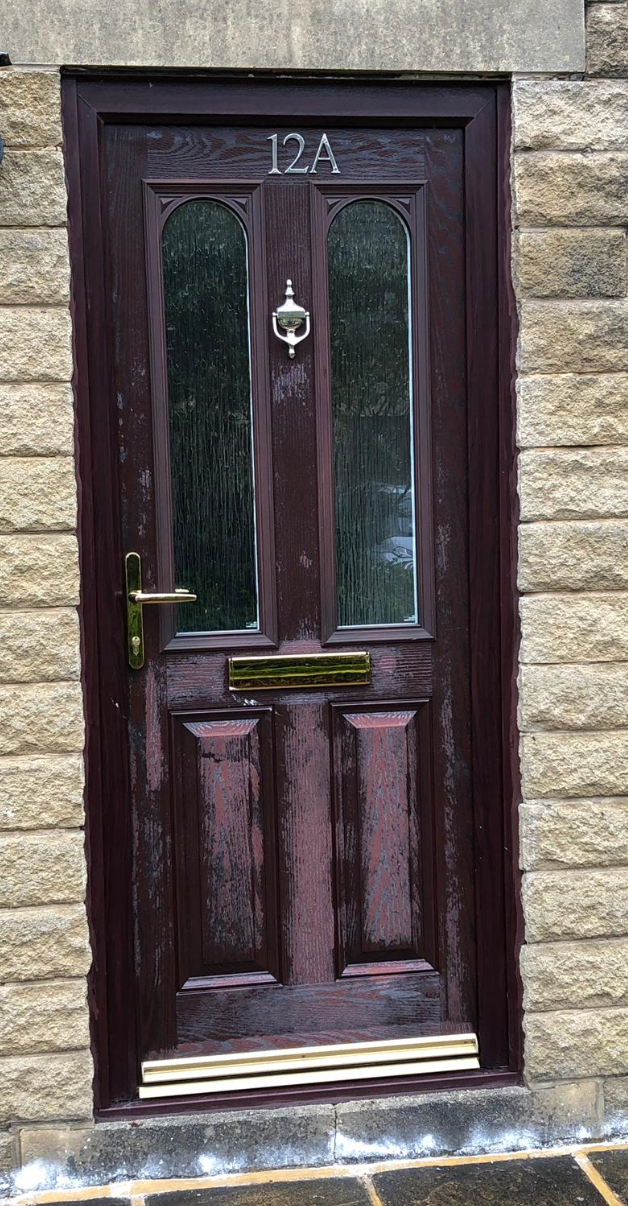 faded composite door