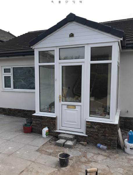 can you paint a upvc door