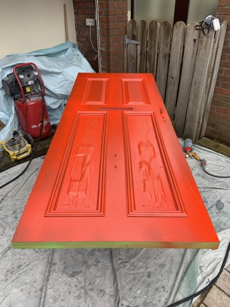 can you paint over grp composite front doors