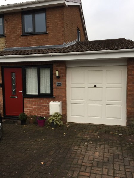 can you spray paint upvc and composite garage doors