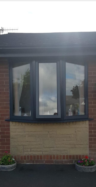 how can upvc windows be sprayed