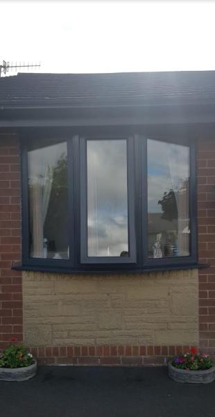how can upvc windows be sprayed