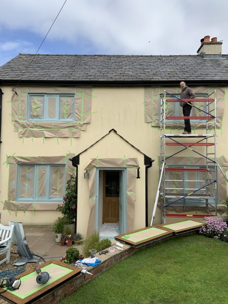 how much does it cost to have upvc windows sprayed