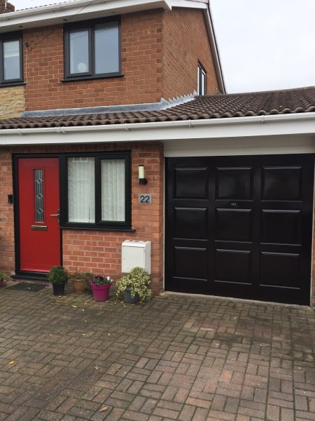 spraying upvc composite garage door cost