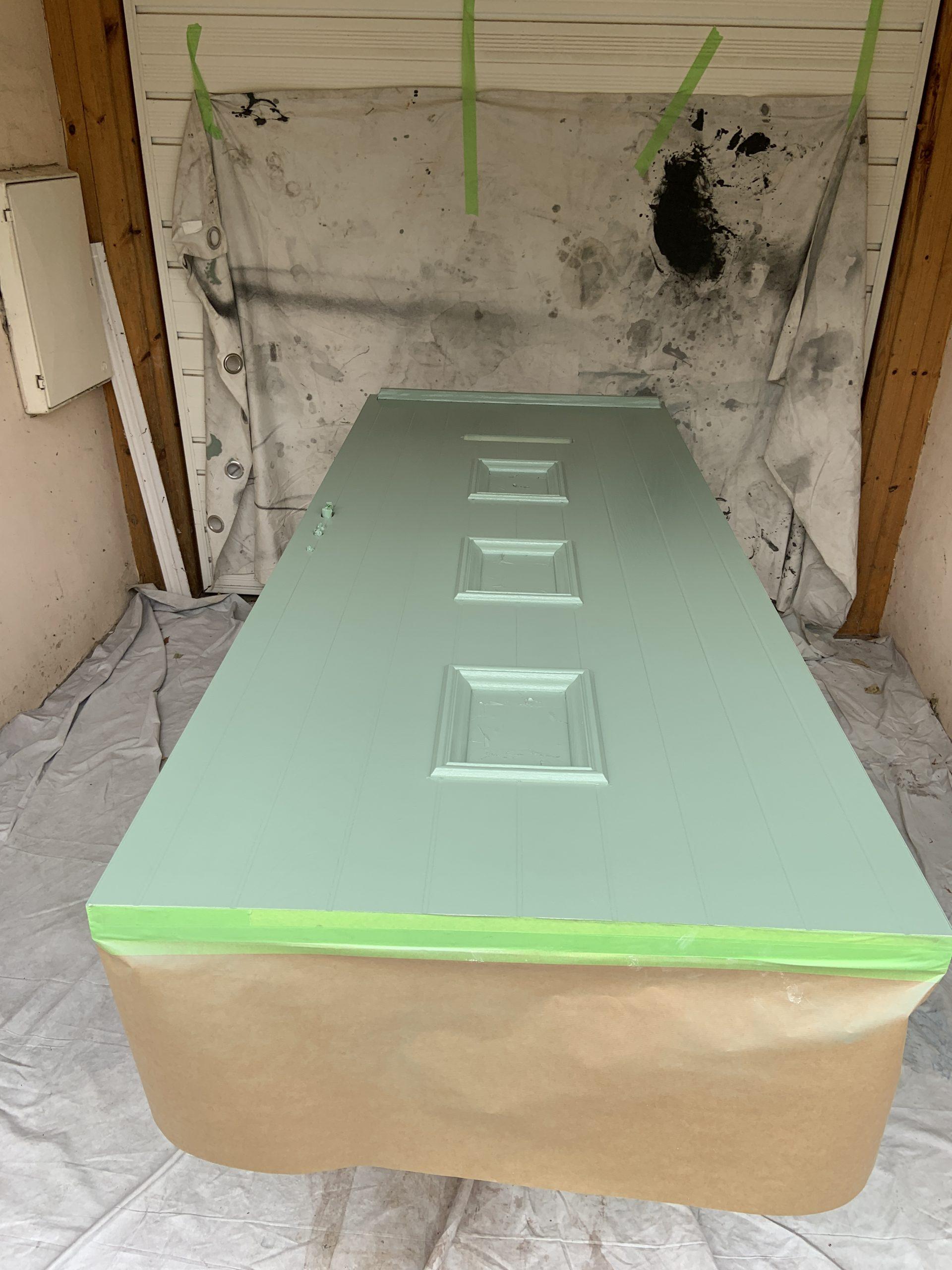 composite door spraying bradford